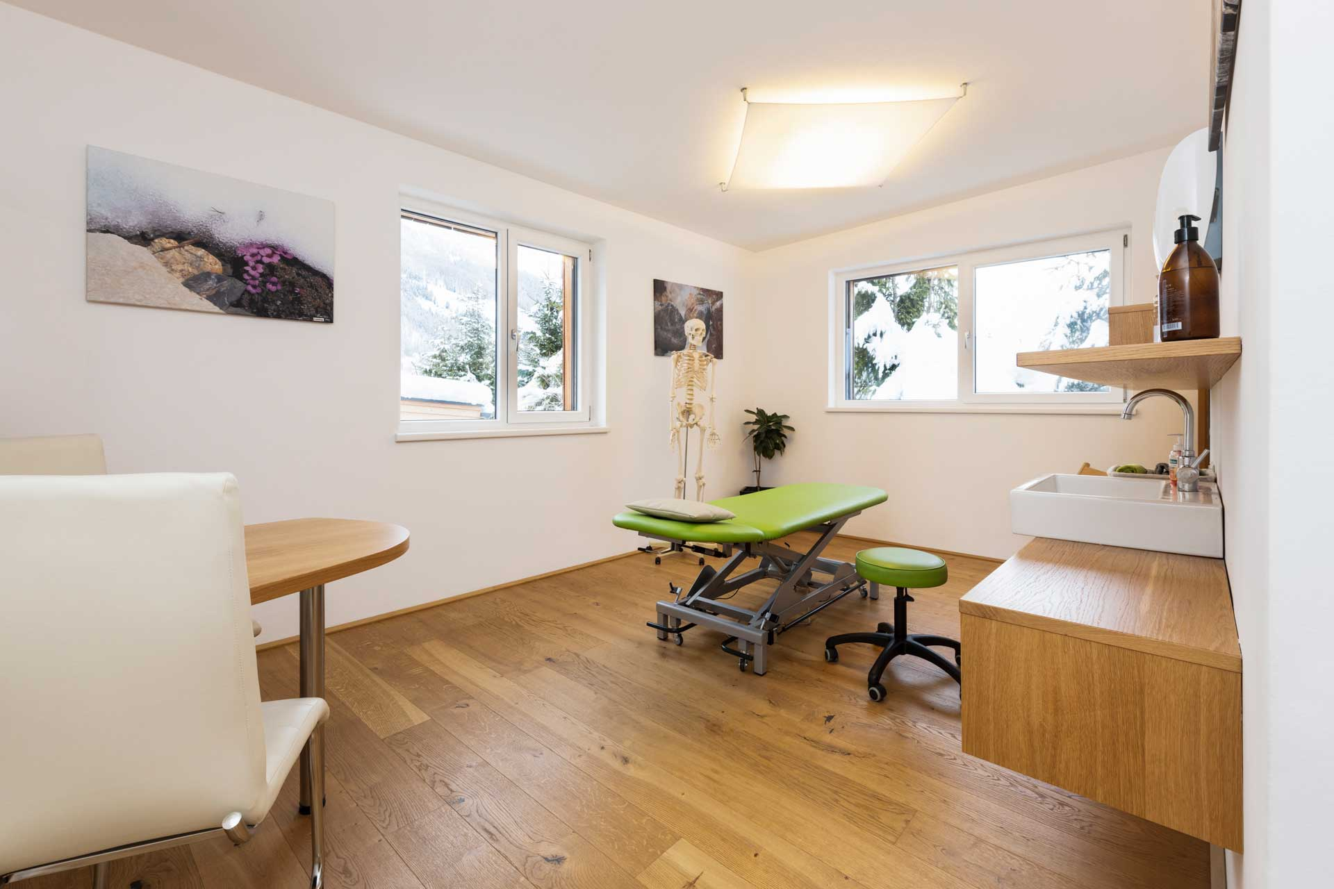 Therapiezentrum Stubai - Behandlungsraum für Ihre Therapie
