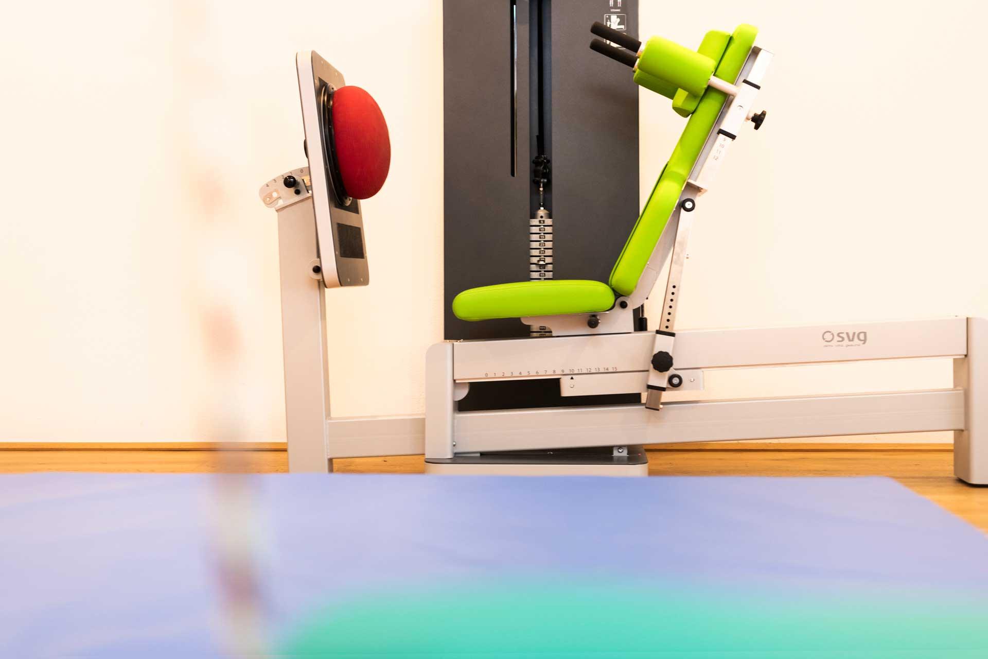 Therapiezentrum Stubai - Sportgerät für Krafttraining