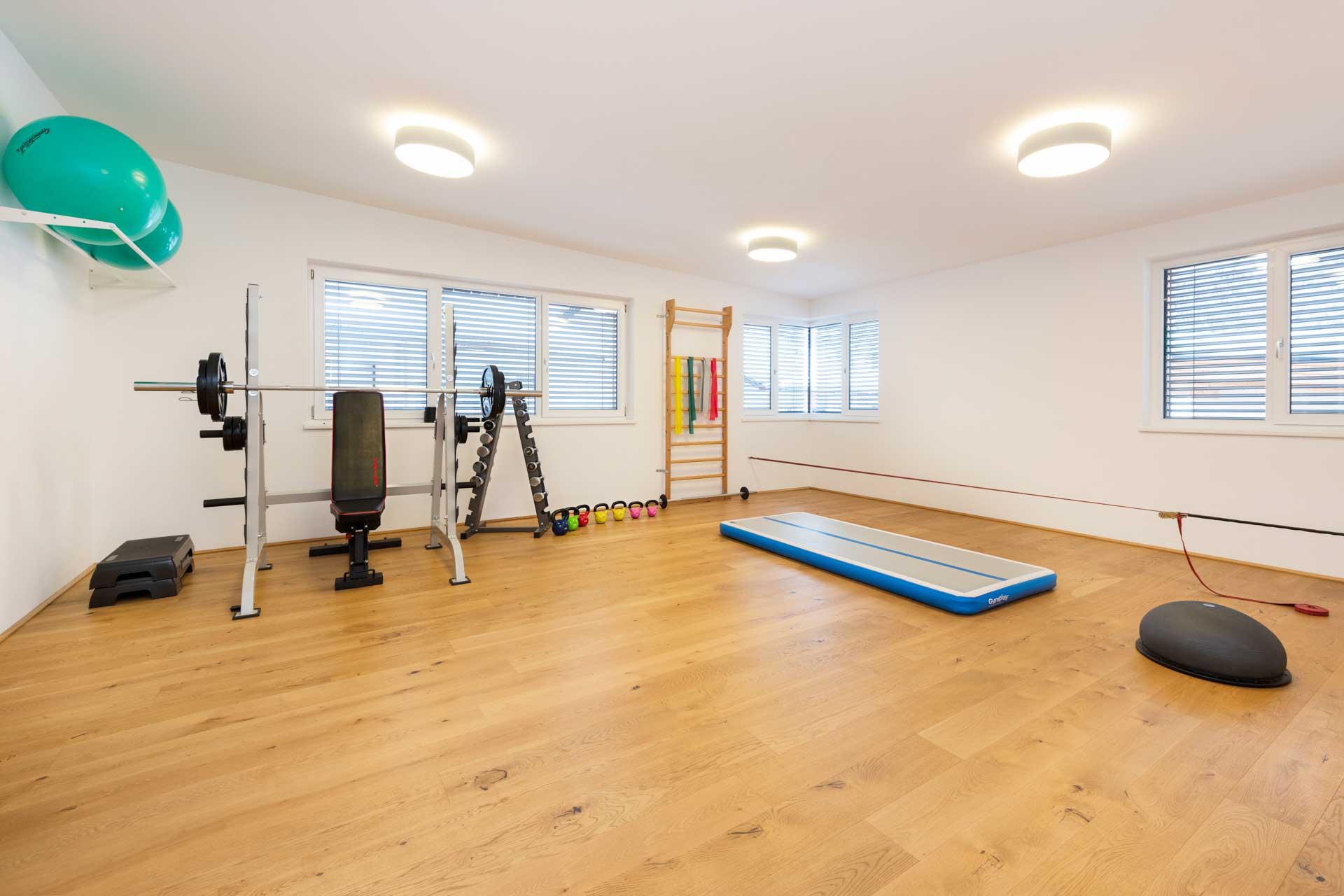 Therapiezentrum Stubai - Fitnessraum